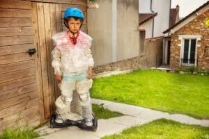 Schwierigkeiten beim Fahrrad fahren lernen